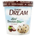 Almond Dream mint chocolate chip non-dairy ice cream - 472ml Introductory Offer