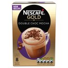 Nescafé Café Menu double choca mocha coffee - 8x23g Brand Price Match - Checked Tesco.com 24/11/2014