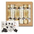 Waitrose Christmas Metallic Crackers - 12s