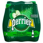 Perrier Green Apple Sparkling Mineral Water - 6x50cl