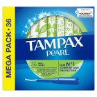 Tampax Pearl Super Applicator Tampon Single 36PK - 36s