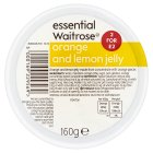 essential Waitrose orange & lemon jelly - 160g