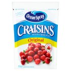 Ocean Spray Craisins, dried cranberries - 150g Brand Price Match - Checked Tesco.com 21/04/2014