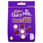 Cadbury Dairy Milk mixed Buttons chocolate bag - 115g