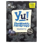 Yu! fruit chews blueberry - 4x42g