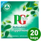 PG Tips refreshing peppermint 20 bags - 22g