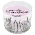 Waitrose 3 wick candle lavender -