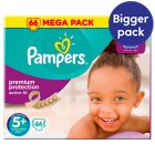 Pampers Active Fit Sz 5+ Mega 68 Nappies - 68s