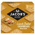 Jacobs mixed seed crispbread - 5x4s Brand Price Match - Checked Tesco.com 29/09/2014