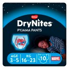 Drynites Pyjama Pants, Boy, age 3-5, 16-23kg - 10s Brand Price Match - Checked Tesco.com 10/03/2014