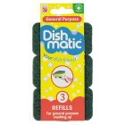 Dishmatic heavy duty refills (pack of 3) - 3s Brand Price Match - Checked Tesco.com 01/07/2015