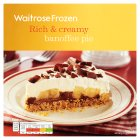 Waitrose Frozen banoffee pie - 480g