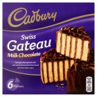 Cadbury Swiss gateau chocolate
