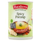 Baxters vegetarian soup spicy parsnip - 400g Brand Price Match - Checked Tesco.com 04/12/2013