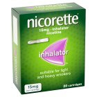 Nicorette inhalator 15mg cartridges - 20s