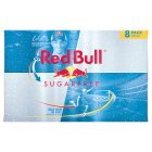 Red Bull sugarfree energy drink - 8x250ml