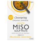 Clearspring white miso soup paste - 4x15g