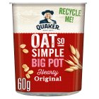 Quaker Oats Oat So Simple Original Big Pot - 67g New Line