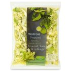 Waitrose broccoli, leek & cabbage - 250g