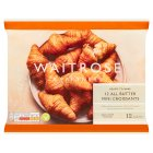 Waitrose 12 mini French croissants - 300g