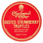 Charbonnel & Walker dusted strawberry truffles - 135g