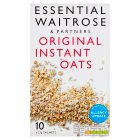 essential Waitrose original instant oats - 10x27g