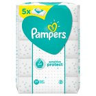Pampers sensitive baby wipes - 5x56s Brand Price Match - Checked Tesco.com 16/07/2014