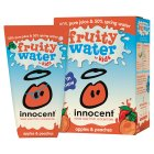 Innocent kids fruity water apple & peach, 4 x 180ml - 4x180ml