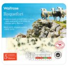 Waitrose mature Roquefort cheese, strength 5 - 100g