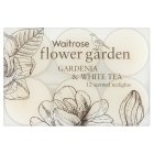 Waitrose gardenia & white tea tealights - 12s