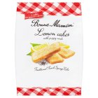 Bonne Maman 7 lemon cakes with poppy seeds - 175g Brand Price Match - Checked Tesco.com 26/08/2015