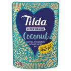 Tilda Super Grains Coconut - 220g