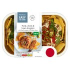 Easy To Cook Pork, Chilli & Bean Burgers - 354g
