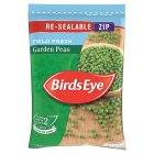 Birds Eye garden peas re-sealable