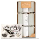 Waitrose Crackers Silver/White - 6s