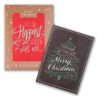 Waitrose Chalkboard Black & Red - 20s