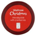 Waitrose Christmas Wensleydale with Cranberries - 200g