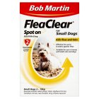 Bob Martin fleaclear for small dogs 2-10kg - 67mg