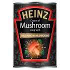 Heinz cream of mushroom soup with porcini mushrooms - 400g