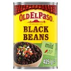 Old El Paso black beans - drained 230g