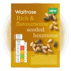 Waitrose seeded houmous - 200g