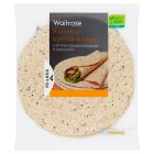 Waitrose LOVE life 8 seeded tortilla wraps - 512g