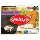 Birds Eye lightly dusted cod fillets garlic & herb - 225g Introductory Offer