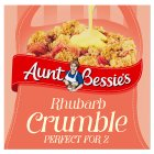 Aunt Bessie's rhubarb crumble - 240g Brand Price Match - Checked Tesco.com 01/07/2015