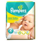 Pampers new baby 2 mini 3-6kg - 32s Brand Price Match - Checked Tesco.com 05/03/2014