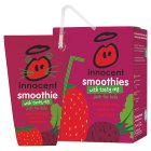 Innocent Smoothie for Kids Strawberry, Apples & Beetroot - 4x180ml