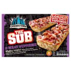 Chicago Town subs 2 meat feast - 2x125g