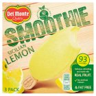 Del Monte Smoothie Sicilian Lemon - 3x90ml
