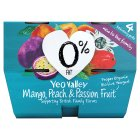 Yeo Valley 0% fat mango, peach & passionfruit yogurt - 4x120g