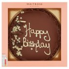 Waitrose happy birthday cake - 1185g